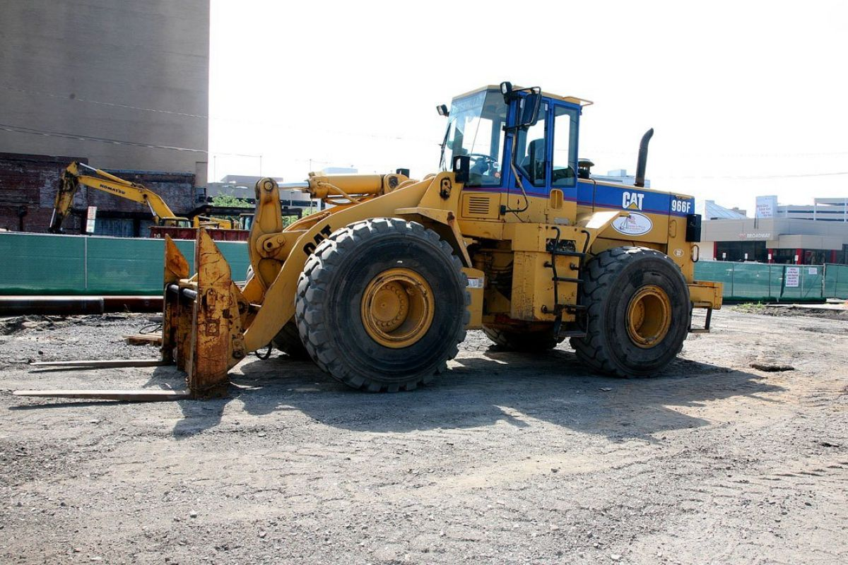 Caterpillar 966 f11 wheel loader 1995