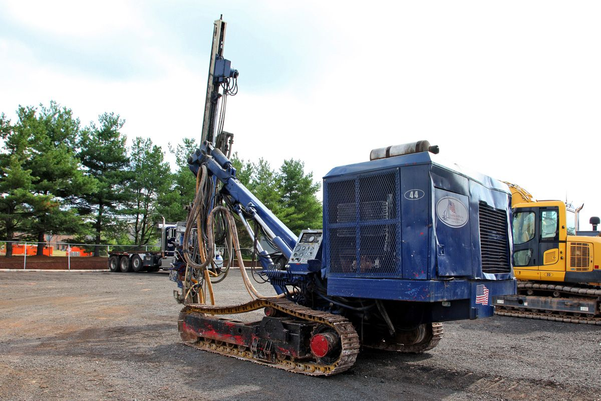 Ingersoll-Rand ecm 370 Crawler Air Track Drill 1995