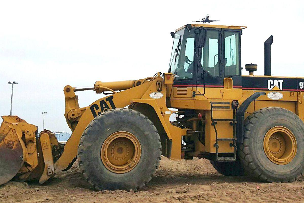 Caterpillar 950f wheel loader 1995